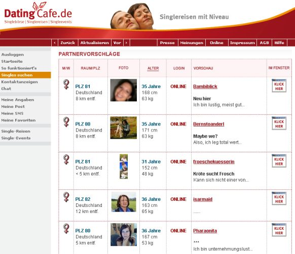Dating Cafe Schwerin